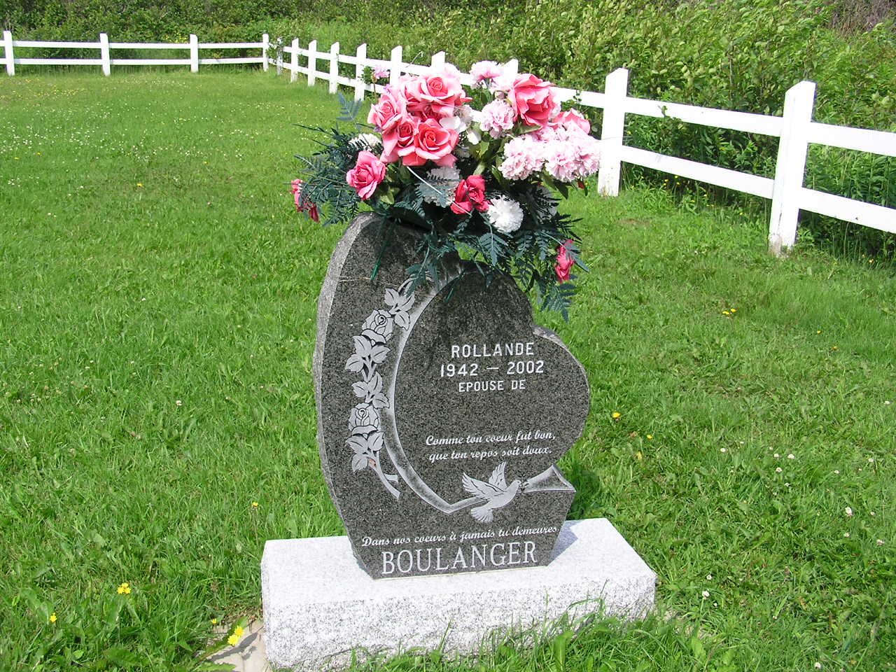 Cemeteries of the gaspe area by morris patterson